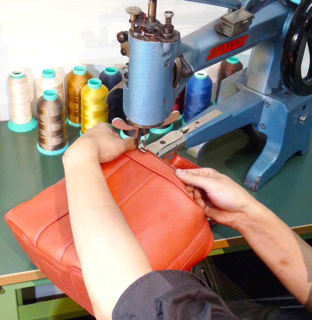 修理・縫い技術