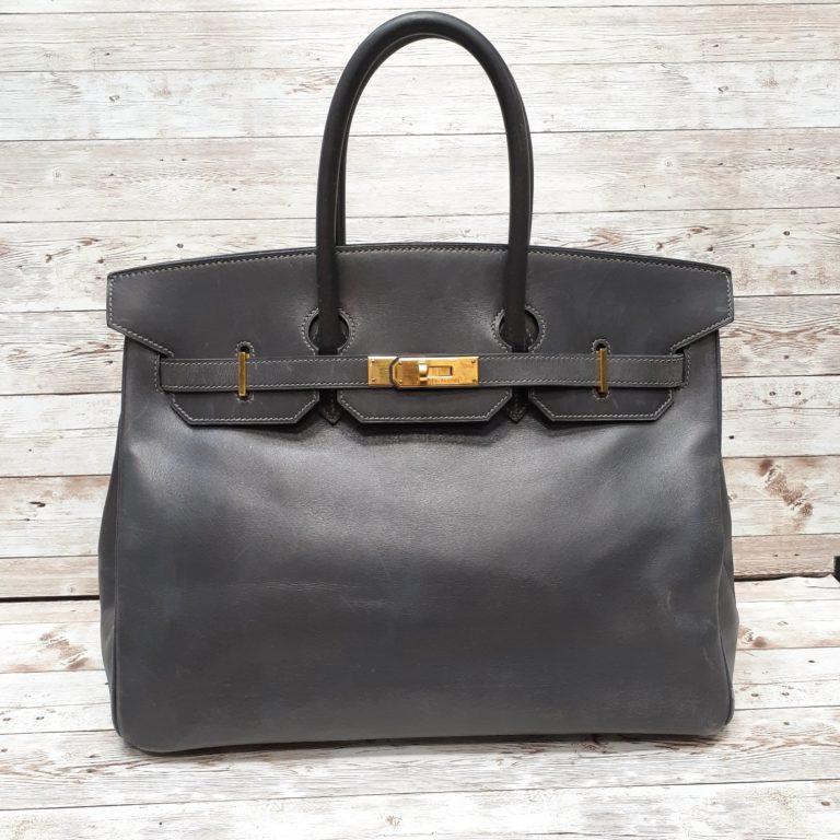 エルメス(Hermes)のバーキンバッグの色補修をご紹介