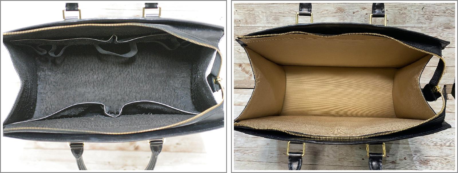 ルイ・ヴィトン(Louis Vuitton)のエピの内袋交換