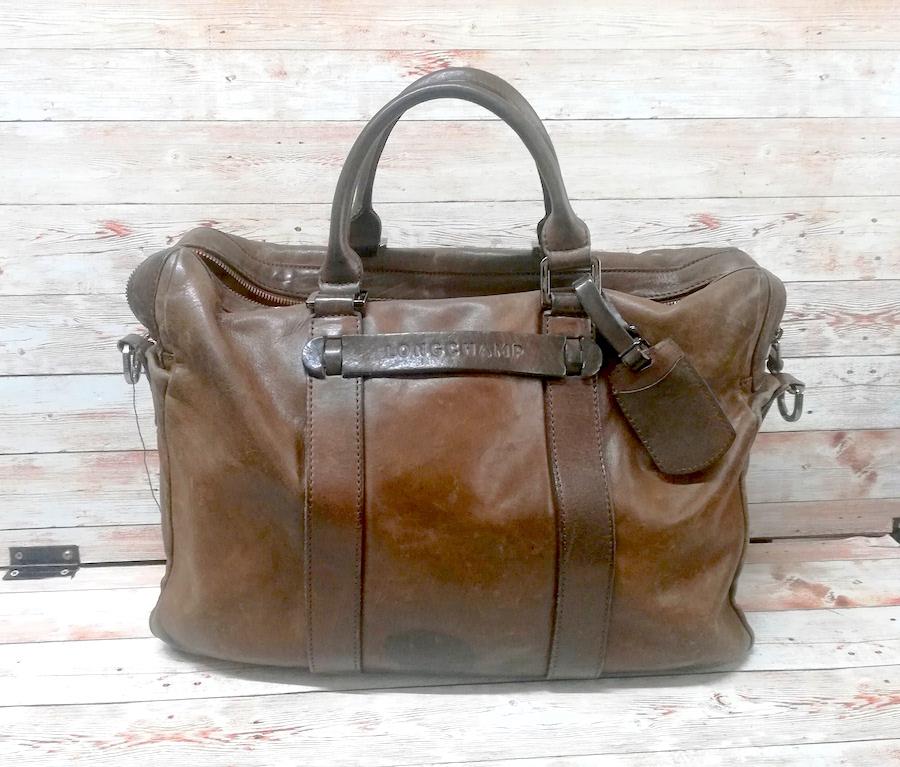 ロンシャン(Longchamp) 革バッグのファスナー交換をご紹介