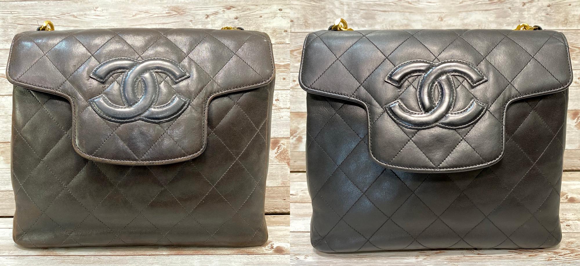 シャネル(Chanel)ハンドバッグの色補修をご紹介