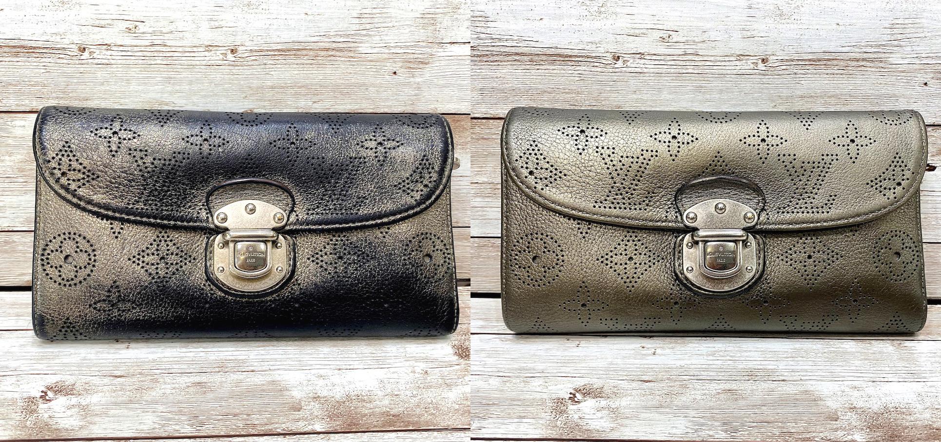 ルイヴィトン(Louis vuitton)の財布の色補修をご紹介